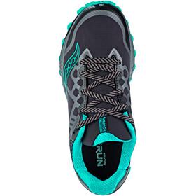 saucony Peregrine 8 GTX Shoes Damen black/grey/blue